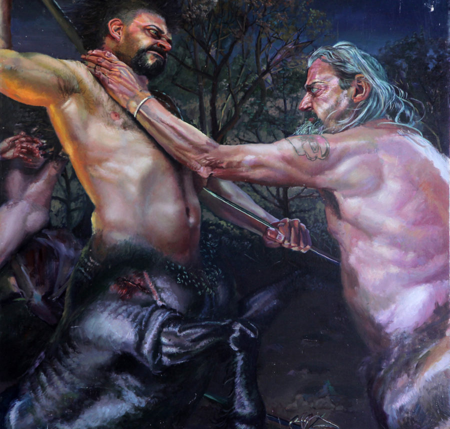 Centaur Battle