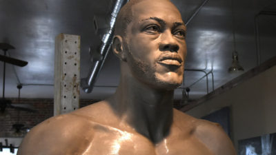 Process: Sculpting Deontay Wilder